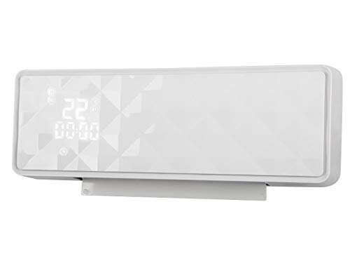 PURLINE HOTI M90 Calefactor cerámico de Pared de 2000W. Pantalla Digital. Mando a Distancia. Temporizador 24 horas. Protección sobrecalentamiento