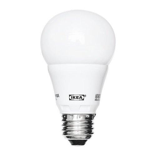 LEDARE/LED電球/E26/球形/オパールホワイト(400 lm)[イケア]IKEA(40266743)