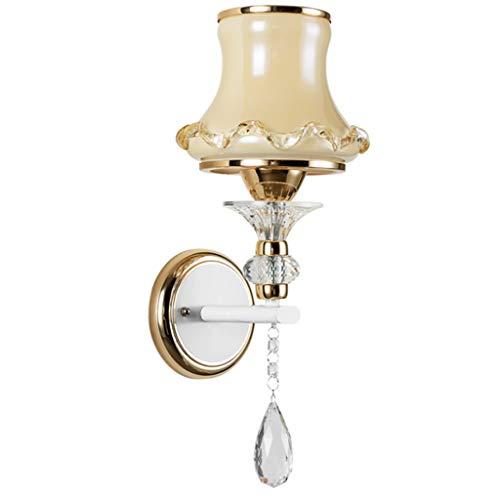JYDQM Lámpara de Pared de Cabeza Individual de cabecera, lámpara de Sala de Estar Minimalista Moderna, lámpara de Pasillo cálido de Dormitorio Creativo