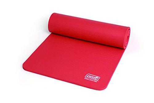 SISSEL Gymnastikmatte Turnmatte Yogamatte Sportmatte Rot 180 X 60 X 1,5 cm