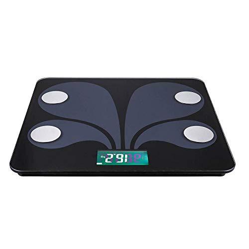 FengZTT LED Digitale Body Fat Scale Bad Wireless gewichtsschaal analyzer lichaamscompositie app compatibel met iOS Android Systeem!
