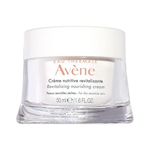 Eau Thermale Avene Revitalizing Nourishing Cream, Ultra Nourishing Face Moisturizer, Non-comedogenic 1.6 fl. oz.