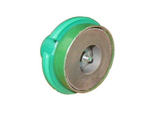 Cyalume Magnetsockel zur Befestigung von Cyalume-Leuchtstäben (12-er Pack) - zur Platzierung auf allen magnetischen Oberflächen - für SnapLight und ChemLight-Leuchtstäbe zur senkrechten Positionierung
