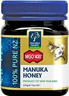 Manuka Health 蜜纽康麦卢卡蜂蜜 MGO 400+, 1件装 (1 x 500 g)