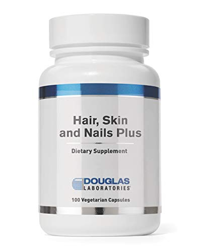 Douglas Laboratories - Hair, Skin & Nail Plus - Vitamins, Minerals, and Nutrients Formulated to Support Healthy Hair, Skin, and Nails - 100 Capsules