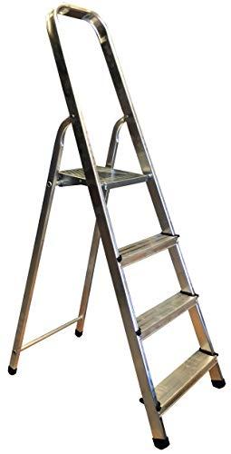 Homelux 825002 Escalera Domestica, 4 Peldaños, 3.5 kg