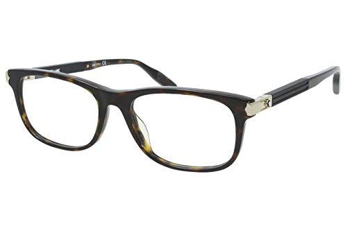 Montblanc Occhiale da Vista MB0036O 007 havana montatura plastica taglia 56 mm occhiale uomo