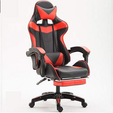 SJVR Gaming-Stuhl Racing Office, Gaming Racing PC Gamer Stuhl Gaming Stuhl ergonomische Computer Sessel Anker Home Cafe Spiel wettbewerbsfähige Sitze Farbe