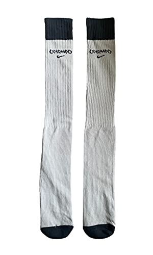 Nike - Calzini da basket vintage 2 paia di scarpe da ginnastica, unisex, per adulti, stile classico anni '90, taglia unica