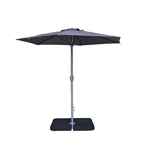 Parasol Anti Vent Central Ø 2.75 M (sans Pied) - Alizé