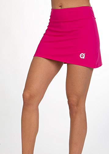 a40grados Sport & Style, Falda Fussion Cereza, Mujer, Tenis y Padel (Paddle) (40 M)