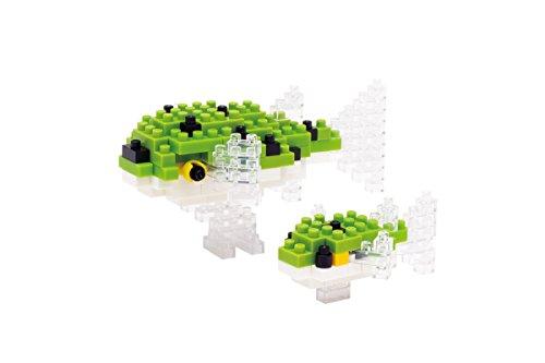 Nanoblock 58514485 - Juego De Construcción Pez Globo