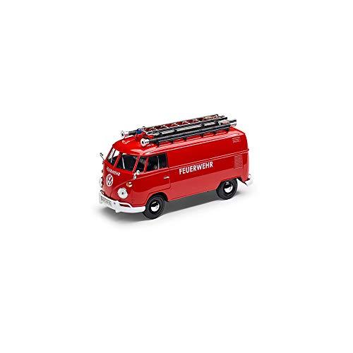Volkswagen 1H3099303A Originele VW T1 Bulli brandweer 1:24 miniatuur