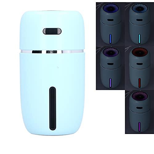 Eulbevoli Humidificador, humidificador USB de 200 ml para Sala de Estar para Dormitorio(Blue, Pisa Leaning Tower Type)