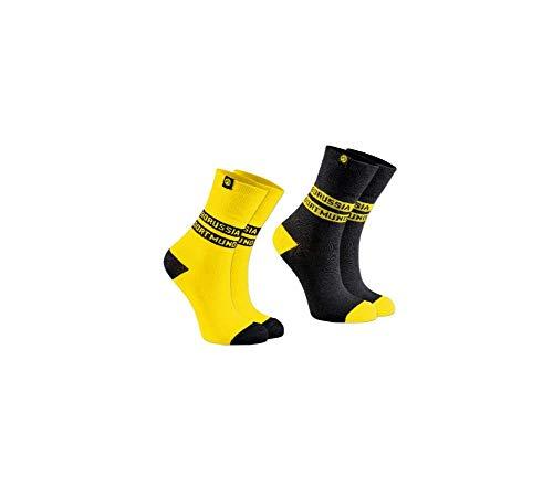 Borussia Dortmund Socken 2er-Pack, Gr. 43-46