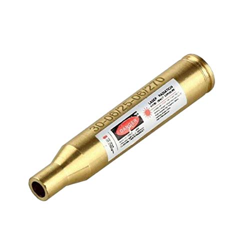 MAYMOC 30-06/25-06/270 Bore Sight Laser Red Dot in-Chamber Cartridge ✮ Red Dot Laser Sighter ✮