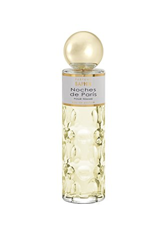 PARFUMS SAPHIR Noches de París - Eau de Parfum con vaporizador para Mujer - 200 ml