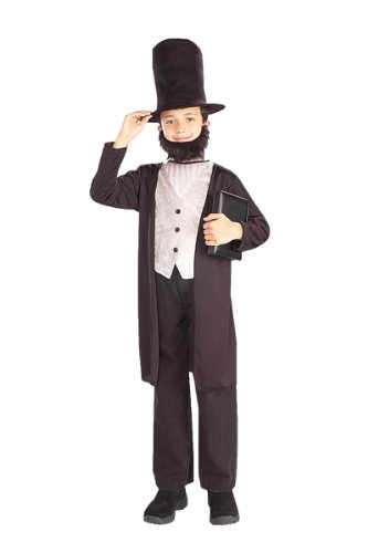 Kids Abraham Lincoln Costume - Medium