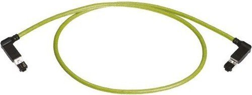 HARTING Green PVC Cat5 Kabel U/FTP, 500 mm Stecker RJ45 / Stecker RJ45
