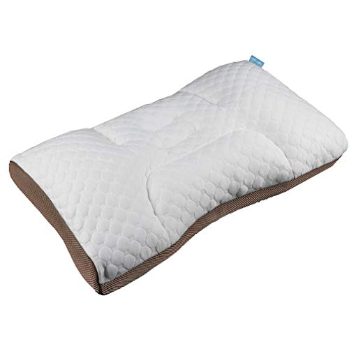 Fitows Polyethylene Pipe Pillow Cervical Support Contour Doctor Recommended Adjustable Pillow Helps Reduce Neck and Back Pain &Improve Cervical