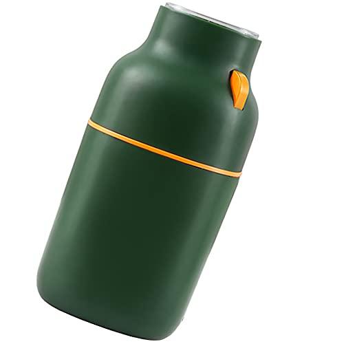 LESIXW Elektrischer Edelstahl Kaffeemühle Bohnenschleifer für Hausküche 150w Leistung 100g,Grün