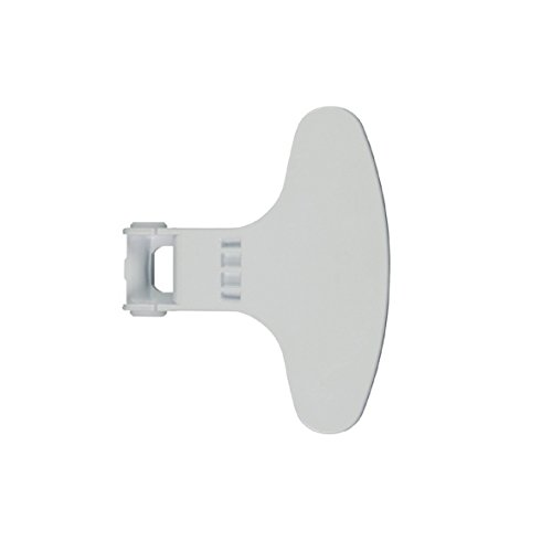 LAZER ELECTRICS 2821580100 - Manilla para puerta de lavadora (repuesto original), color blanco