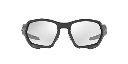 OO9019 Oakley Plazma Sunglasses, Matte Carbon/Photochromic, 59mm
