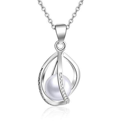 Likass Damen 925 Silber Halskette Silberanhänger,Beste Wahl Für Ihr Valentinstaggeschenk, Neujahrsgeschenk, Jahrestagsandenken,Symbol Der Liebe-Hohle Laterne
