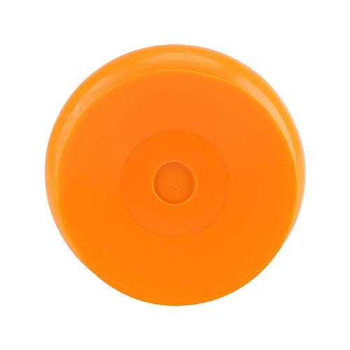 Ybzx Reloj Impermeable Reloj de Pared Reloj de baño de succión Dormitorio para Ventana Sala de Estar Ducha Dormitorio Espejo Decoración (Naranja)