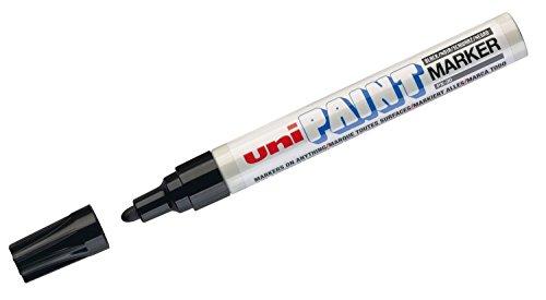 Uni-Ball- Marcatore a Vernice Paintmarker, Colore Nero, 1, 719368