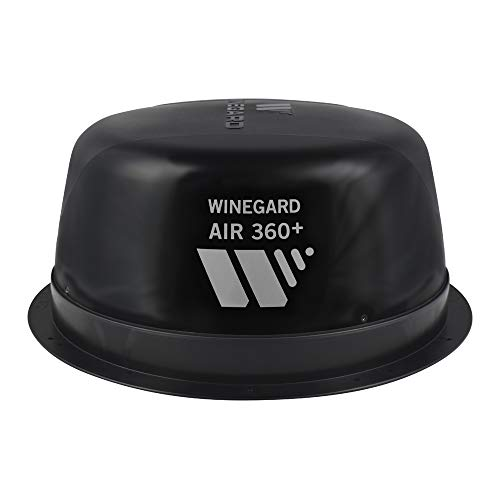 powerful Winegard AR-360B Air 360+ Enhanced Omnidirectional VHF / UHF and FM-RV Antenna with AR-360B