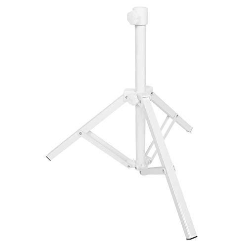 Support de support de parapluie de plage pliable, support de support de support de parasol pliant en métal triangulaire pour la pêche de camping de jardin de plage, supports de parapluie de patio