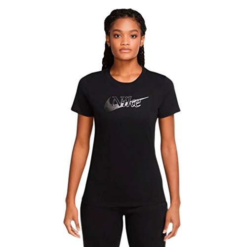 Nike Icon Clash 1 T-Shirt Femmes T-Shirt Femme Black FR : 2XL (Taille Fabricant : XXL)