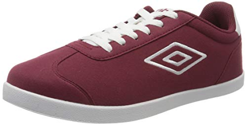 UMBRO Herren Harris Sneakers, Rot (New Claret/White 6jy), 40 2/3 EU