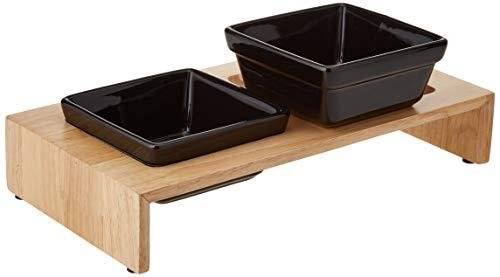 Trixie Napf-Set Keramik/Holz 2 x 0,2 l - 3