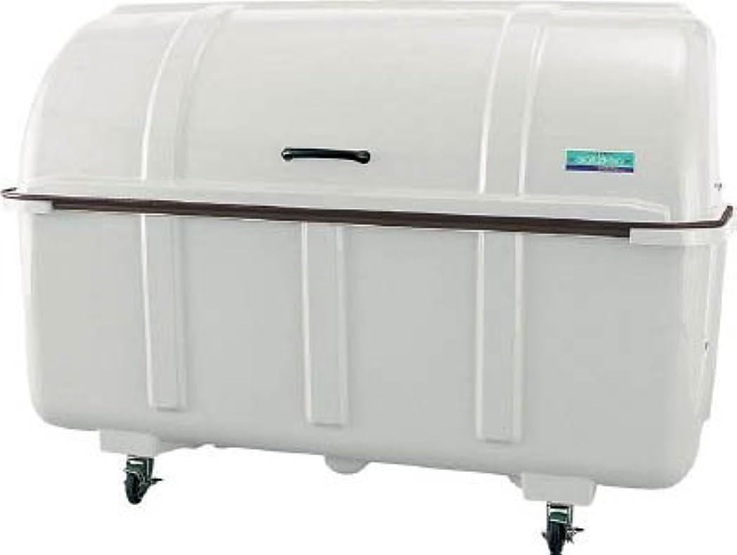 ハミングバード不足国旗TRUSCO カイスイマレン ゴミ箱 ジャンボステーション J1500BC キャスター付 J1500BC