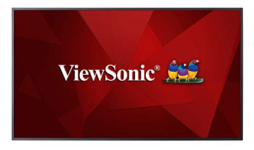 Viewsonic CDE6510 Signage-Display 165,1 cm (65 inch) LCD 4K Ultra HD digitaal signaal flat paneel zwart - Signage-Display (165,1 cm (65 inch), LCD, 3840 x 2160 pixels, 350 cd/m2, 4K Ultra HD, 8 ms)