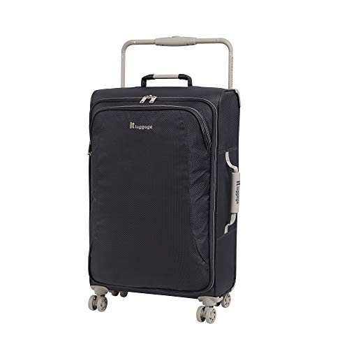 IT Luggage 27.6' World's Lightest 8 Wheel Spinner, Magnet With Cobblestone Trim