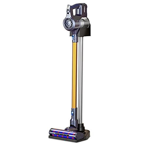 UPERCT 掃除機 コードレス 23000Pa 自走式ヘッド 大直径ロール スタンド付き 最大45分稼働 スティッククリーナー サイクロン