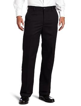 black mens dress pants