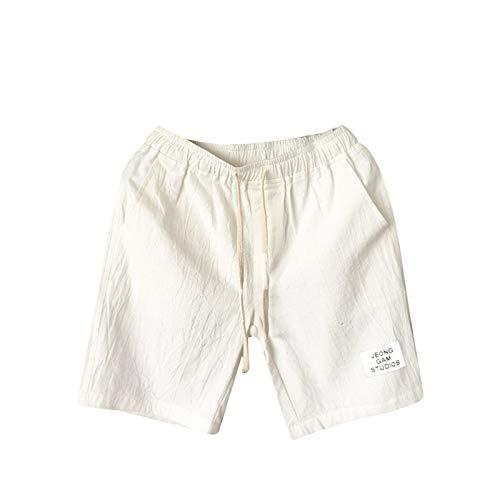 ZEZKT Shorts Deportivos para Hombre Pantalones Cortos de 100% AlgodóN para Hombre DiseñO Original Shorts Secado RáPido para Correr Hombres Gym Sports Bermudas Ajustados Shorts