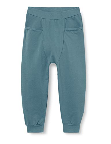 Fixoni Unisex Baby Pants-Boys Hose, China Blue, 56