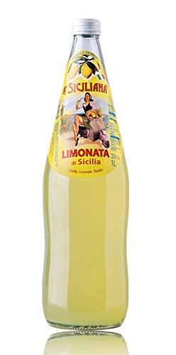 A' Siciliana Sicilian Limonata Soda 33.8 Fl Oz Glass Bottle