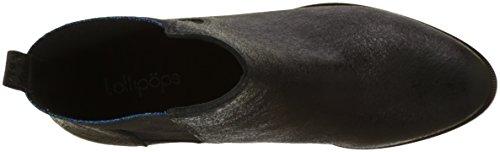 Lollipops 23225 - Botas de Piel sintética Mujer, Negro (Negro (Black 001)), 40 EU