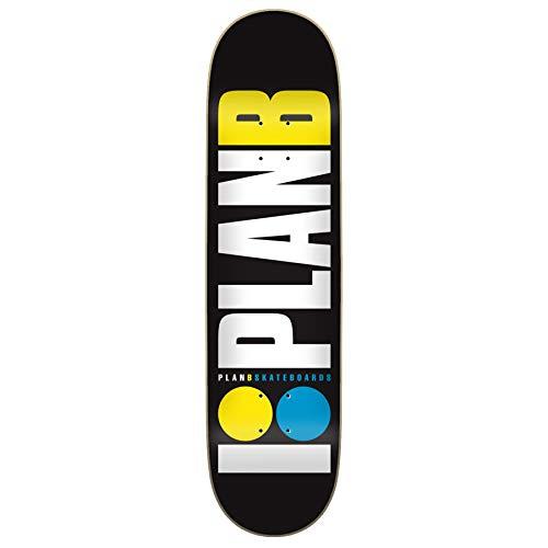 PLAN B Team OG Neon 20 x 80 cm Deckbrett, Erwachsene, Unisex, Mehrfarbig, Einheitsgröße