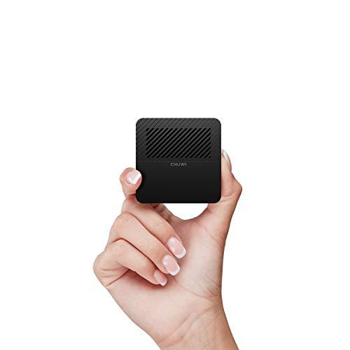 CHUWI LarkBox Pro Mini PC with 6GB RAM 128GB ROM Intel Celeron J4125 Quad Core (Up to 2.7GHz) Windows 10 Desktop Computer 4K Ultra-HD Streaming, 2xUSB 3.0 Dual Wi-Fi, BT5.1, VESA Mounting