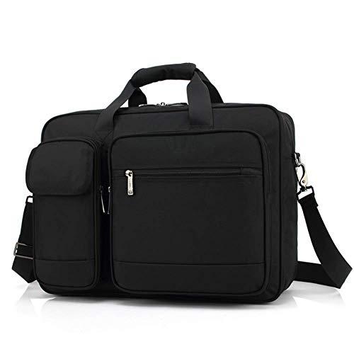 ZhongYi Laptoptas met grote capaciteit, zakelijke schoudertas voor heren en maten 15Inch A