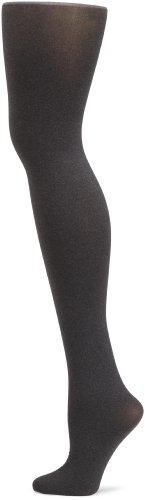 Hue Women's Super Opaque Sheer To Waist Tight,Graphite Heather, Size 2