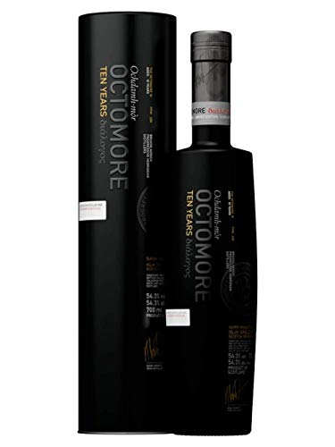 Octomore TEN YEARS Old Islay Single Malt Scotch Whisky 2009 54,3% Volume 0,7l in Tinbox Whisky