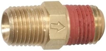 Midwest Control M2525 MPT in-Line Check Valve, 250 psi Max Pressure, 250 Degree F Max Temperature, 1/4